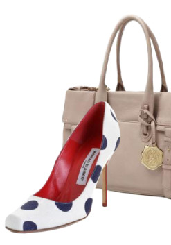 Manolo Blahnik GLOTON Pump from Chick Downtown